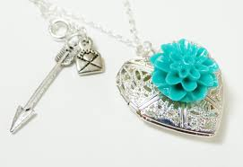 necklace with heart lock images How to dahlia heart locket necklace jpg