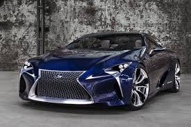 blue lexus 2015 techcracks lexus lf lc blue car concept