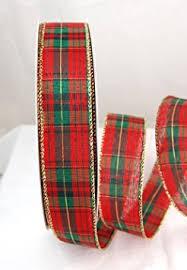 cheap plaid christmas ribbon find plaid christmas ribbon deals on