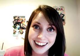 Crazy Girlfriend Meme Girl - overly attached girlfriend uses fame for charity social news daily