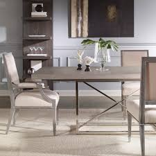 vanguard michael weiss burroughs dining table designer dining tables
