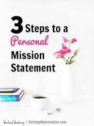 personal mission statement strategies for success summer quarter