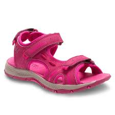 merrell girls berry pink panther leather sandals mc56513