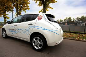 nissan leaf ad nissan teams up with as roma to promote zero emission mobility