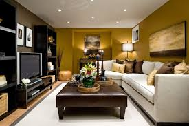 decoration ideas for small living room exotic brown tuffet modern