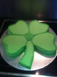4 leaf clover cake irish cakes my cakes pinterest irish