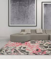 Modern Grey Rugs Modern Grey Blush Premium Polypropylene Rug Soft And Luxurious
