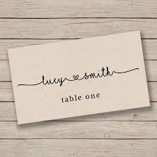 Table Place Cards by Wedding Ideas Placecards Weddbook