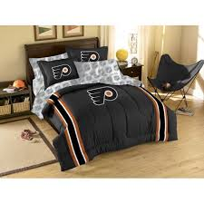 86 X 86 Comforter Philadelphia Flyers Nhl Embroidered Comforter Set Twin Full 64