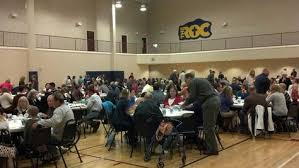 the annual thanksgiving dinner celebration at cross roads