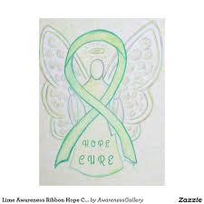 custom awareness ribbons 218 best lime green awareness ribbon support and gifts images