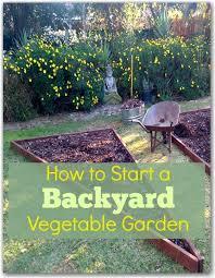 How To Design A Backyard Garden How To Start A Backyard Vegetable Garden Hometalk Gardening