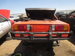 World Falcon Auto Salvage by Junkyard Find 1978 Fiat X1 9 The Truth About Cars
