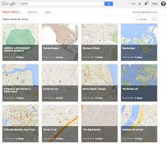 Chicago Google Maps by Google Maps Gallery Lets Anyone Share Custom Maps