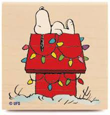 snoopy dog house christmas new peanuts decorated dog house wood rubber st snoopy christmas