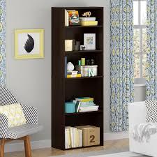 adjustable shelves bookcase kmart com shelf cherry idolza