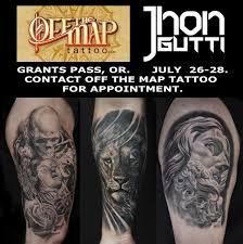 Off The Map Tattoo Jhon Gutti