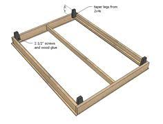 Twin Platform Bed Building Plans by How To Make A Diy Platform Bed U2013 Lowe U0027s Use These Easy Diy
