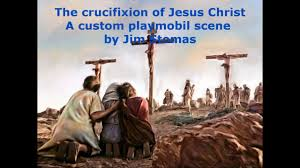 the crucifixion of jesus christ playmobil custom scene youtube
