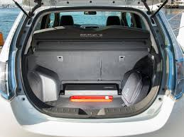 nissan leaf trunk space nissan leaf 2014 pictures information u0026 specs