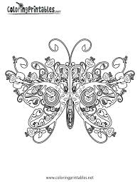 free printable butterfly coloring pages kids coloring free