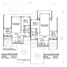 paragon duplex 56238 french country home plan at design basics