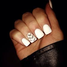 acrylic nails white how you can do it at home pictures designs