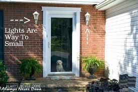 outside front door lights imposing ideas front door lights 27 impressionable light fixtures