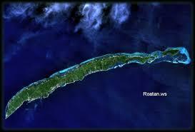 map of roatan honduras where is roatan
