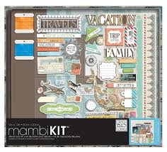 scrapbook album kits me my big ideas scrapbooking kit our travels 12