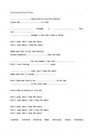 english teaching worksheets other songs