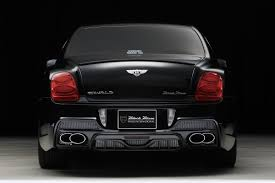 bentley flying spur rear wald releases new luxury kit for the bentley continental flying spur