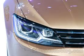volkswagen lamando vw lamando headlight at guangzhou auto show 2014 indian autos blog