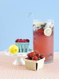 baby shower punch sprite simply strawberry lemonade fresh fruit
