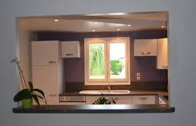 passe plat cuisine salon idee ouverture cuisine sur salon maison design bahbe com newsindo co