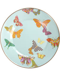 mackenzie childs l surprise 50 off mackenzie childs butterfly garden enamel dinner