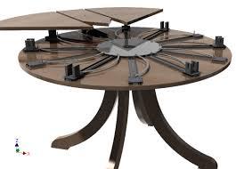 expandable table expandable circular table smart furniture