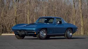corvette auctions 1967 chevrolet corvette coupe s111 indy 2017