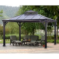 Patio Furniture Gazebo by Outdoor Affordable Way To Upgrade Your Gazebo With Fantastic