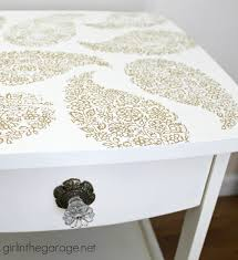 Pretty Tables by Pretty In Paisley Romance Themed Furniture Makeover In