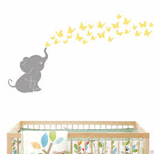 Nursery Decor Elephants by Compare Prices On Elephant Butterfly Wall Decals Online Shopping