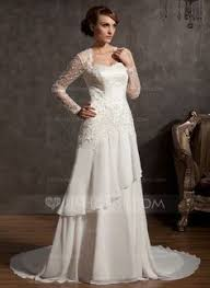 a lovely french lace gown from christos and a welcome return to