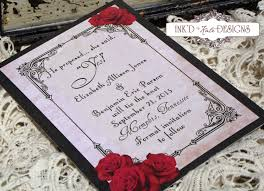Black And White Invitation Cards 12 Mind Blowing Black White And Red Wedding Invitations For Your
