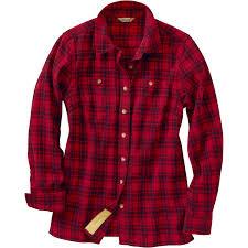 Most Comfortable Flannel Shirt Women U0027s Free Swingin U0027 Flannel Shirt Duluth Trading