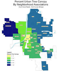 Grand Rapids Michigan Map by Grand Rapids To Plant Trees Rewrite Tree Laws In Effort To