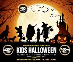 free halloween images for facebook kids halloween party u2013 motion studios st lucia