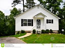 small white house for sale stock photography image 6002092