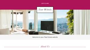Responsive Real Estate Website Templates real estate website templates godaddy