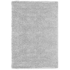 7x10 Area Rug Shop Carpet Deco Loft Shag 7x10 Light Gray Light Gray Indoor