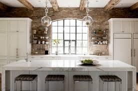 kitchen brick backsplash extraordinary brick veneer kitchen backsplash 63 for interior